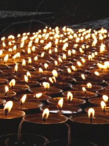 Butterlamp Offering at Open Awareness Buddhist Center - miamibuddhism.com