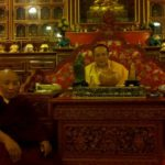 His Eminence The Twelfth Kenting Tai SituPa and Lama Norlha