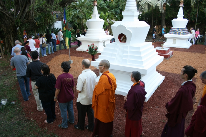 Garden of Merit at Open Awareness Buddhsit Center - MiamiBuddhism.com