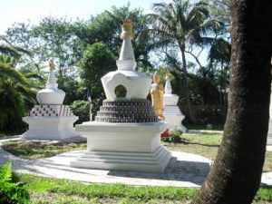 Stupa Garden of Merit Miami Buddhist Temple El Portal