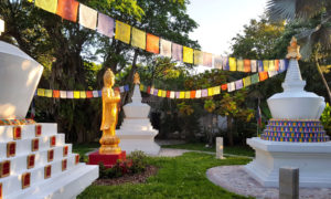 Meditation in the Stupa Garden of Merit @ Miami | Florida | United States