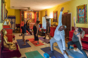 Yoga in a Sacred Place with Wei Lin @ Open Awareness Buddhist Center | El Portal | Florida | United States