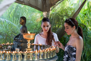Chanting, Butterlamp offerings & prayers @ Open Awareness Buddhist Center | El Portal | Florida | United States