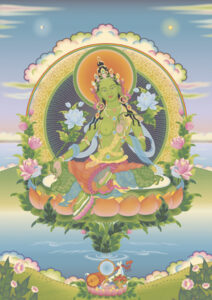 Medicine Buddha and Short Green Tara Chanting Practice